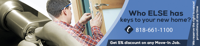 Who Else Has Keys To Your New Home? Call Locksmith Northridge